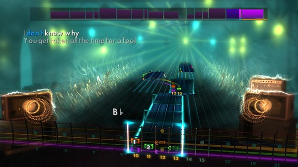 """Скриншот №1 к Rocksmith® 2014 Edition – Remastered – The Strokes - """"Taken for a Fool"""""""