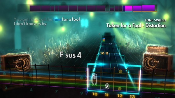 """Скриншот №3 к Rocksmith® 2014 Edition – Remastered – The Strokes - """"Taken for a Fool"""""""