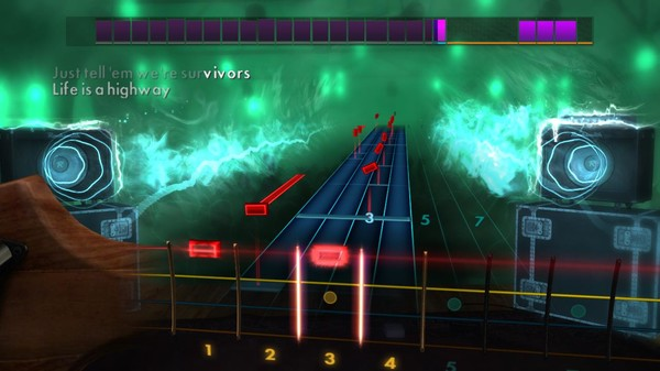 "Скриншот №5 к Rocksmith® 2014 Edition – Remastered – Tom Cochrane - ""Life is a Highway"""