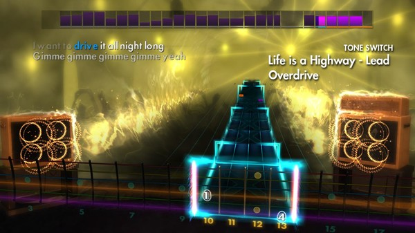 "Скриншот №1 к Rocksmith® 2014 Edition – Remastered – Tom Cochrane - ""Life is a Highway"""