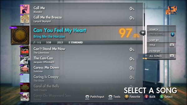 "Скриншот №4 к Rocksmith® 2014 Edition – Remastered – Bring Me the Horizon - ""Can You Feel My Heart"""