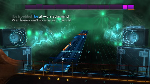 """Скриншот №1 к Rocksmith® 2014 Edition – Remastered – Muddy Waters - """"I Cant Be Satisfied"""""""