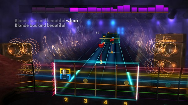 "Скриншот №1 к Rocksmith® 2014 Edition – Remastered – Airbourne - ""Blonde Bad and Beautiful"""