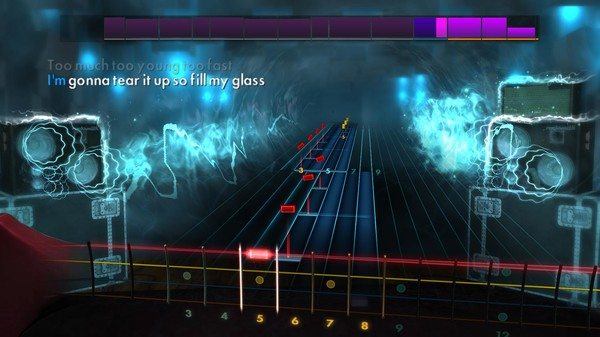 "Скриншот №3 к Rocksmith® 2014 Edition – Remastered – Airbourne - ""Too Much Too Young Too Fast"""
