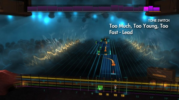 "Скриншот №4 к Rocksmith® 2014 Edition – Remastered – Airbourne - ""Too Much Too Young Too Fast"""
