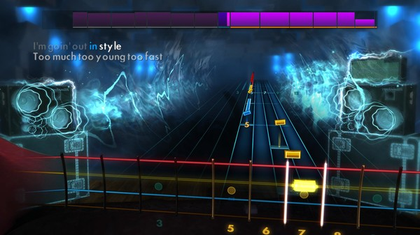 "Скриншот №5 к Rocksmith® 2014 Edition – Remastered – Airbourne - ""Too Much Too Young Too Fast"""