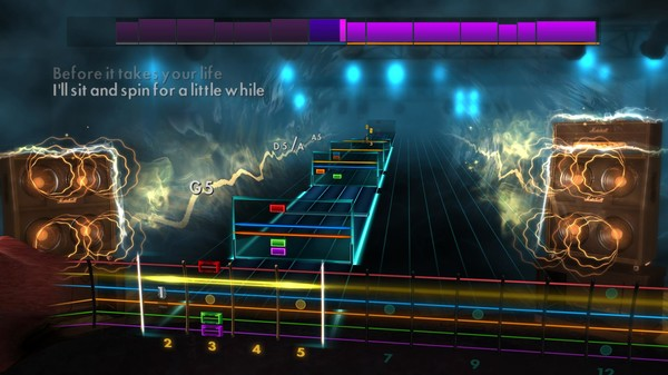 "Скриншот №2 к Rocksmith® 2014 Edition – Remastered – Airbourne - ""Too Much Too Young Too Fast"""