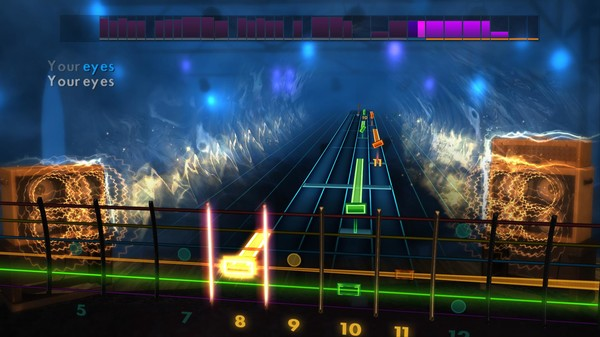 "Скриншот №4 к Rocksmith® 2014 Edition – Remastered – Bombay Bicycle Club - ""Your Eyes"""