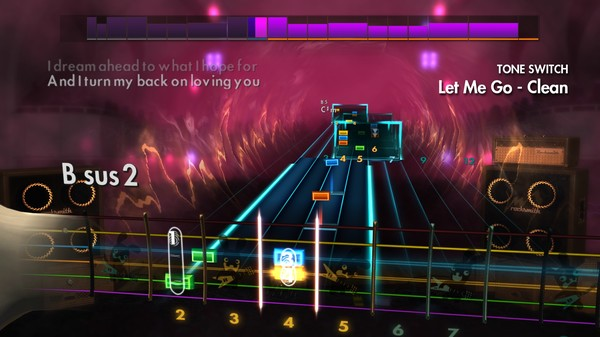 "Скриншот №4 к Rocksmith® 2014 Edition – Remastered – 3 Doors Down - ""Let Me Go"""