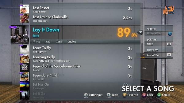 "Скриншот №5 к Rocksmith® 2014 Edition – Remastered – Ratt - ""Lay It Down"""