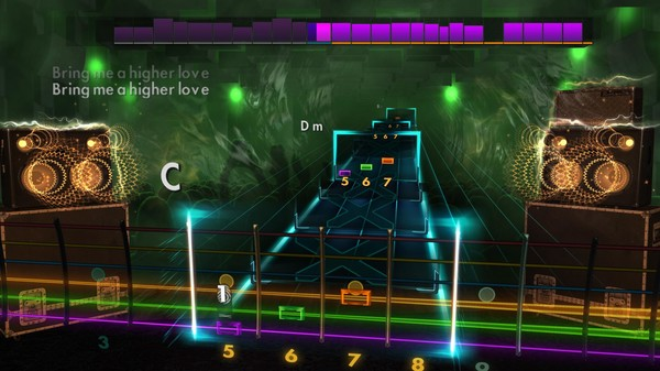 "Скриншот №4 к Rocksmith® 2014 Edition – Remastered – Steve Winwood - ""Higher Love"""