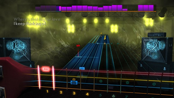 "Скриншот №5 к Rocksmith® 2014 Edition – Remastered – Steve Winwood - ""Higher Love"""