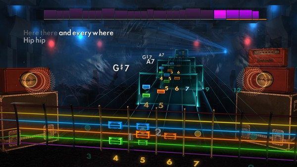 "Скриншот №2 к Rocksmith® 2014 Edition – Remastered – Huey Lewis  The News - ""Hip To Be Square"""