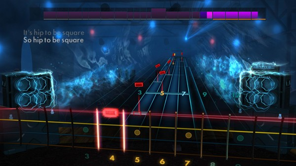 "Скриншот №4 к Rocksmith® 2014 Edition – Remastered – Huey Lewis  The News - ""Hip To Be Square"""
