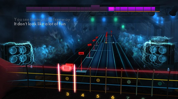 "Скриншот №5 к Rocksmith® 2014 Edition – Remastered – Huey Lewis  The News - ""Hip To Be Square"""
