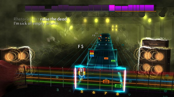 "Скриншот №5 к Rocksmith® 2014 Edition – Remastered – Thrice - ""The Artist in the Ambulance"""