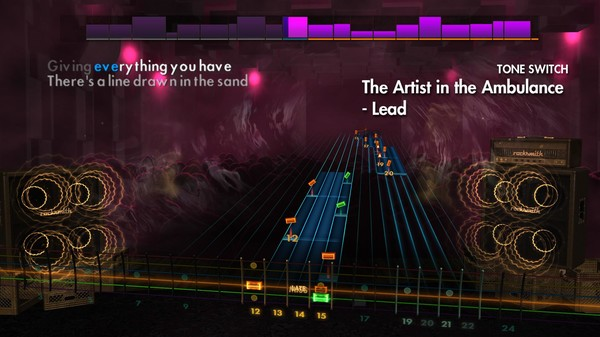 "Скриншот №4 к Rocksmith® 2014 Edition – Remastered – Thrice - ""The Artist in the Ambulance"""