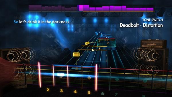 """Скриншот №3 к Rocksmith® 2014 Edition – Remastered – Thrice - """"Deadbolt"""""""