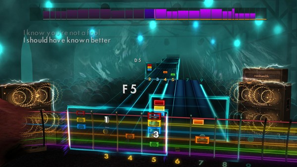 Скриншот №2 к Rocksmith® 2014 Edition – Remastered – Rockin Covers Song Pack