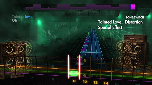 Скриншот №1 к Rocksmith® 2014 Edition – Remastered – Rockin Covers Song Pack