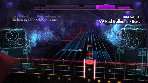 "Скриншот №4 к Rocksmith® 2014 Edition – Remastered – Goldfinger - ""99 Red Balloons"""