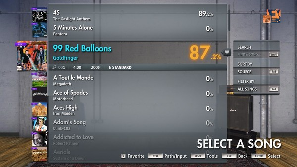 "Скриншот №2 к Rocksmith® 2014 Edition – Remastered – Goldfinger - ""99 Red Balloons"""