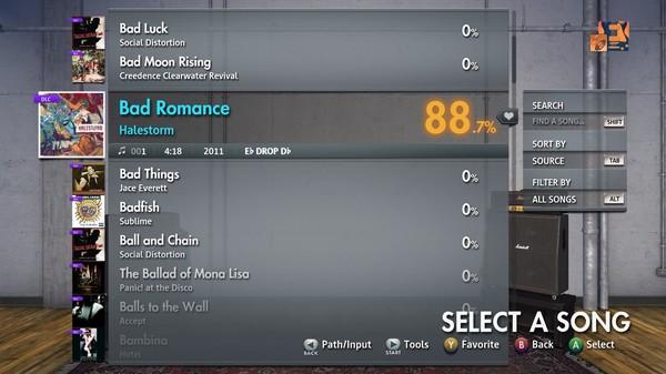 """Скриншот №3 к Rocksmith® 2014 Edition – Remastered – Halestorm - """"Bad Romance"""""""