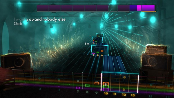 "Скриншот №3 к Rocksmith® 2014 Edition – Remastered – Four Tops - ""I Cant Help Myself Sugar Pie Honey Bunch"""