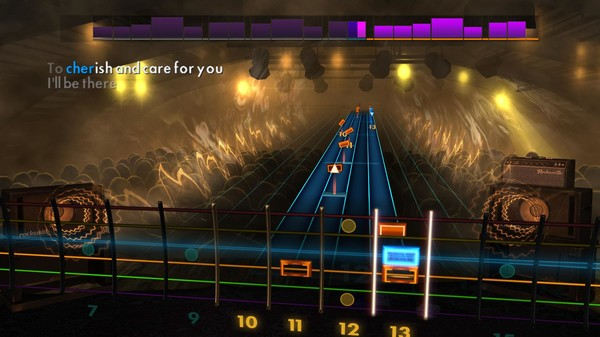 """Скриншот №1 к Rocksmith® 2014 Edition – Remastered – Four Tops - """"Reach Out Ill Be There"""""""