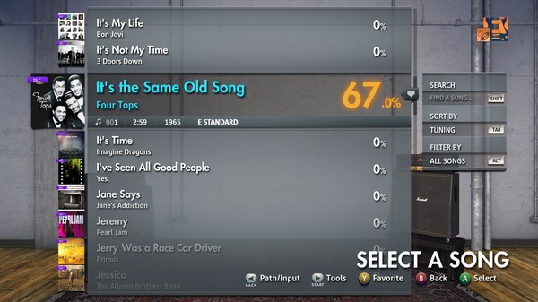 """Скриншот №3 к Rocksmith® 2014 Edition – Remastered – Four Tops - """"Its the Same Old Song"""""""
