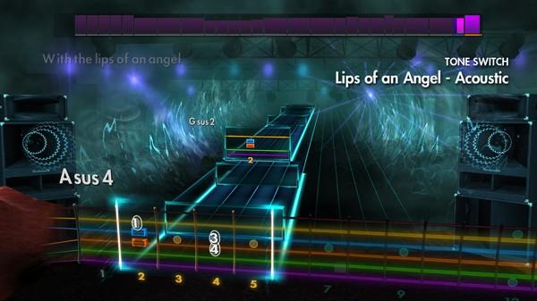 "Скриншот №3 к Rocksmith® 2014 Edition – Remastered – Hinder - ""Lips of an Angel"""