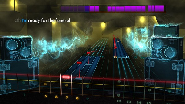 """Скриншот №4 к Rocksmith® 2014 Edition – Remastered – Band of Horses - """"The Funeral"""""""
