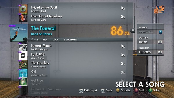 """Скриншот №1 к Rocksmith® 2014 Edition – Remastered – Band of Horses - """"The Funeral"""""""