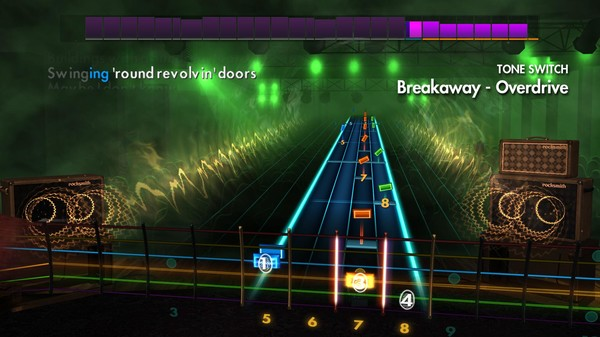 "Скриншот №3 к Rocksmith® 2014 Edition – Remastered – Kelly Clarkson - ""Breakaway"""