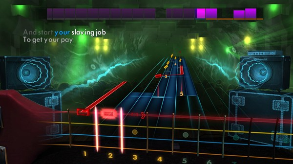 Скриншот №2 к Rocksmith® 2014 Edition – Remastered – Bachman-Turner Overdrive Song Pack