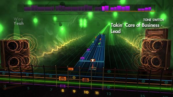 "Скриншот №4 к Rocksmith® 2014 Edition – Remastered – Bachman-Turner Overdrive - ""Takin Care of Business"""