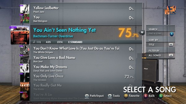 """Скриншот №2 к Rocksmith® 2014 Edition – Remastered – Bachman-Turner Overdrive - """"You Aint Seen Nothing Yet"""""""