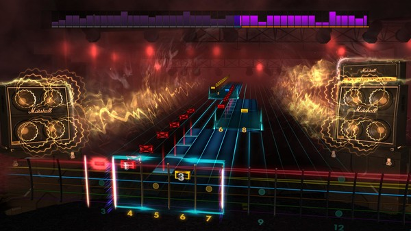 "Скриншот №2 к Rocksmith® 2014 Edition – Remastered – DragonForce - ""Through the Fire and Flames"""