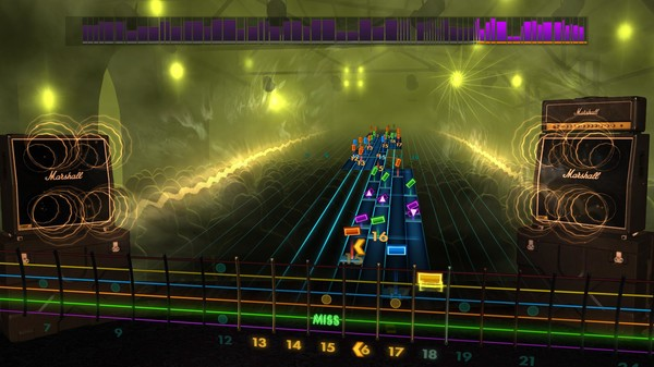 "Скриншот №5 к Rocksmith® 2014 Edition – Remastered – DragonForce - ""Through the Fire and Flames"""