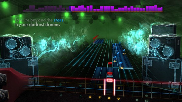 "Скриншот №4 к Rocksmith® 2014 Edition – Remastered – DragonForce - ""Through the Fire and Flames"""