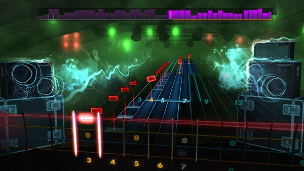 "Скриншот №3 к Rocksmith® 2014 Edition – Remastered – DragonForce - ""Through the Fire and Flames"""