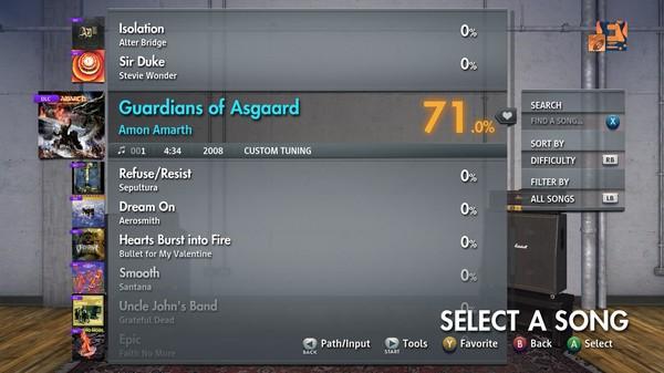 "Скриншот №2 к Rocksmith® 2014 Edition – Remastered – Amon Amarth - ""Guardians of Asgaard"""