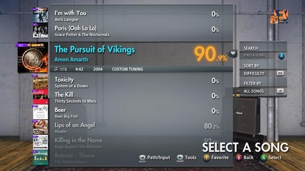 "Скриншот №2 к Rocksmith® 2014 Edition – Remastered – Amon Amarth - ""The Pursuit of Vikings"""
