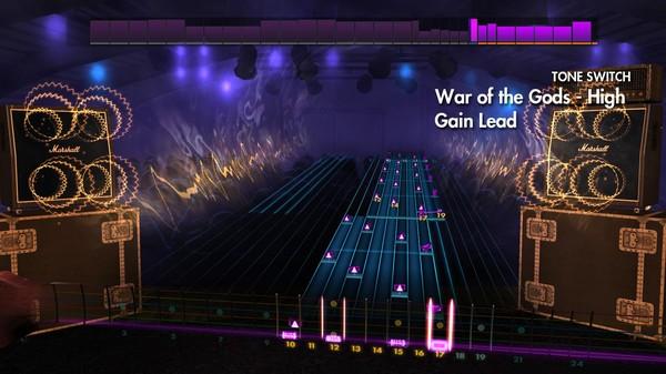 "Скриншот №2 к Rocksmith® 2014 Edition – Remastered – Amon Amarth - ""War of the Gods"""