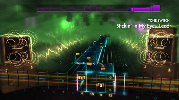 "Скриншот №2 к Rocksmith® 2014 Edition – Remastered – NOFX - ""Stickin in My Eye"""