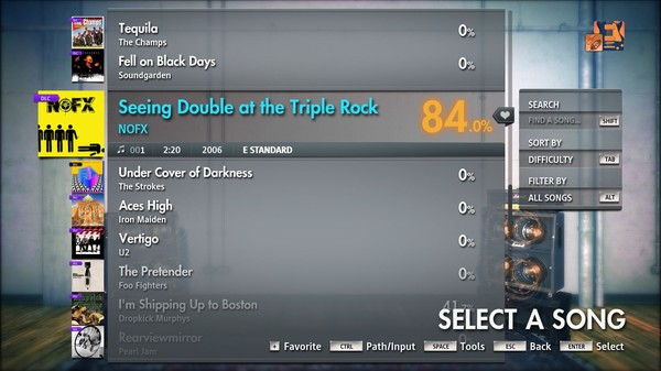 """Скриншот №5 к Rocksmith® 2014 Edition – Remastered – NOFX - """"Seeing Double at the Triple Rock"""""""