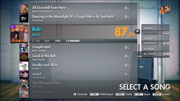 "Скриншот №3 к Rocksmith® 2014 Edition – Remastered – NOFX - ""Bob"""