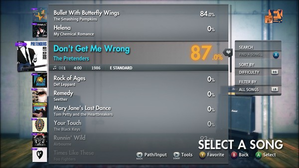 """Скриншот №5 к Rocksmith® 2014 Edition – Remastered – The Pretenders - """"Dont Get Me Wrong"""""""