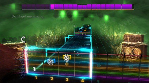 """Скриншот №3 к Rocksmith® 2014 Edition – Remastered – The Pretenders - """"Dont Get Me Wrong"""""""