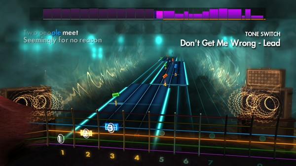 """Скриншот №2 к Rocksmith® 2014 Edition – Remastered – The Pretenders - """"Dont Get Me Wrong"""""""